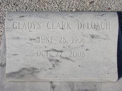 Gladys <i>Clark</i> DeLoach