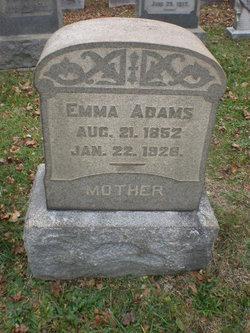 Emma <i>Rowe</i> Adams