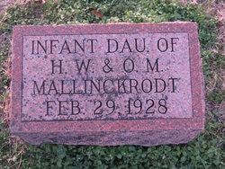 Infant Daughter Mallinckrodt