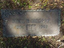 Sybil F Biegert