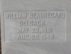 William Beauregard DeLoach