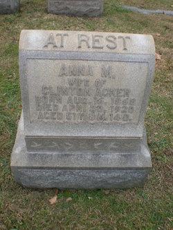 Anna Maria <i>Yost</i> Acker