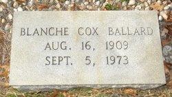 Blanche <i>Cox</i> Ballard