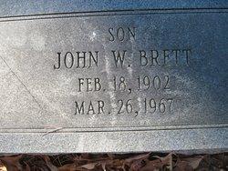 Pvt John William Brett