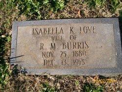 Isabella K. <i>Love</i> Burris