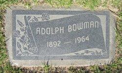 Adolph Bowman