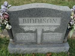 Carroll D Biddison