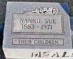 Nannie Sue <i>Clarke</i> McAlexander