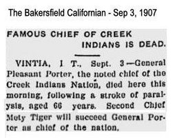 Chief Pleasant Porter
