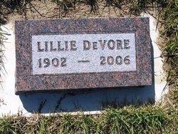 Lillie J. <i>Hillestad</i> DeVore