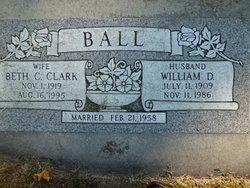 Beth C <i>Clark</i> Ball