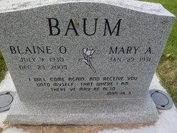 Blaine O Baum