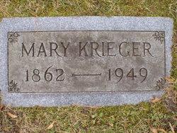 Mary Elizabeth <i>Heintz</i> Krieger