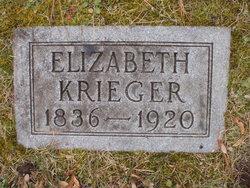 Elizabeth <i>Bechtel</i> Krieger
