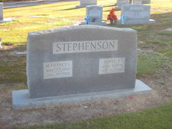 Mary Frances Stephenson