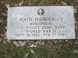 John Haddeman