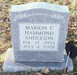 Marion Catherine <i>Hammond</i> Anderson