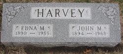 Edna <i>Marts</i> Harvey