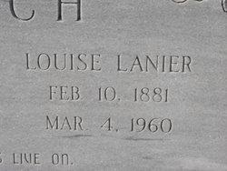Alice Louisa Louise <i>Lanier</i> Futch
