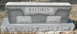 Ida Lee <i>Lock</i> Baldwin