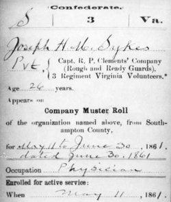 Dr Joseph Henry Merrell Sykes