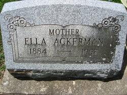 Ella Ackerman