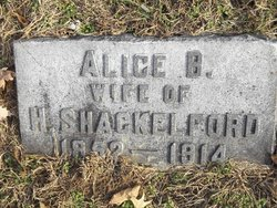 Alice B. <i>Brown</i> Shackelford