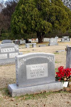 Thurza K. <i>Dean</i> Haddock
