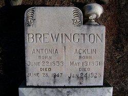 Acklin Brewington