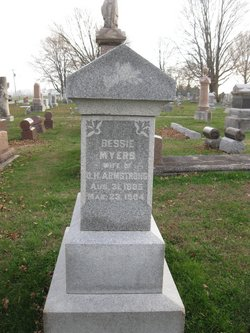 Bessie C. <i>Myers</i> Armstrong