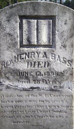 Rev Henry A. Bass