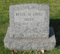 Bessie M <i>Toole</i> Allen