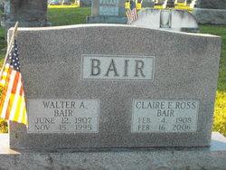 Claire E. <i>Ross</i> Bair