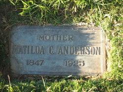 Matilda Christine <i>Sells</i> Anderson
