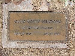 Ollie Betty Meadows