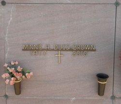 Minnie H <i>Matzen</i> Brown