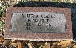 Valeska Clarke <i>Pierson</i> Blackford