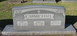 Alma G <i>Morgan</i> Carmichael
