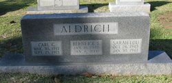 Berneice <i>Switzer</i> Aldrich