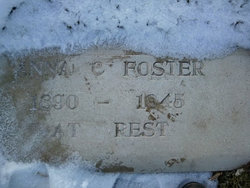 Anna <i>Rolley</i> Foster