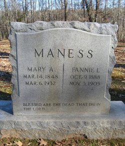 Mary A Maness