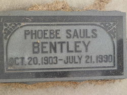 Phoebe <i>Sauls</i> Bentley
