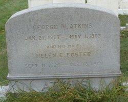 Helen E. <i>Foster</i> Atkins