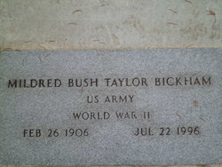 Mildred <i>Bush</i> Bickham