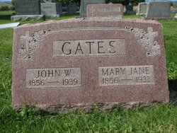 Mary Jane <i>Purfield</i> Gates