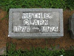 Ruth E. <i>Marriott</i> Clark