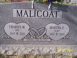 Martha E. <i>Baker</i> Malicoat