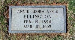 Annie Leora <i>Apple</i> Ellington