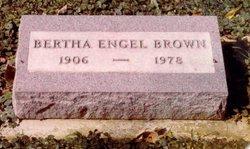 Bertha Katherine <i>Engel</i> Brown