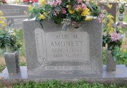 Allie M. <i>Rich</i> Amonett